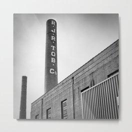 Tobacco Power 3 Metal Print
