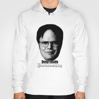 dwight schrute Hoodies featuring Dwight - Perfectenschlag by Thomas Rolfe
