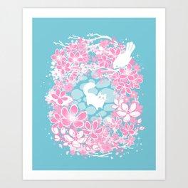 Spring Greeting Art Print