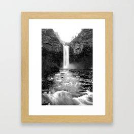 Taughannock Falls Framed Art Print