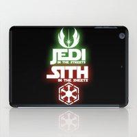 jedi iPad Cases featuring Jedi by Liquidsugar