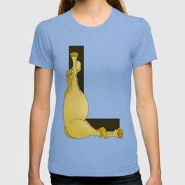 Pony Monogram Letter L T-shirt