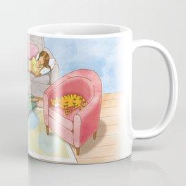 Naptime, moment of happiness. Coffee Mug