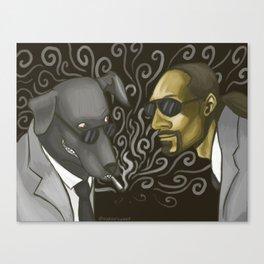 Snoop Dogg and Snoop Dog Canvas Print
