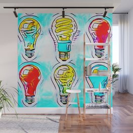 Psychedelic Lights Wall Mural