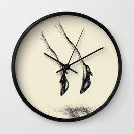 Loss Of Gravity Wall Clock