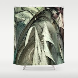 Aspidodelone Shower Curtain