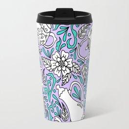 Tea Time Purple Travel Mug