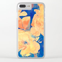 Country Floral Clear iPhone Case