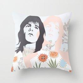 GRIEVOUS ANGEL: GRAM PARSONS Throw Pillow