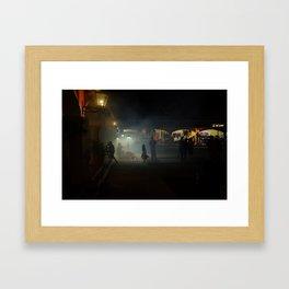 Halloween in Mexico Framed Art Print