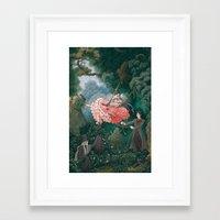kuroshitsuji Framed Art Prints featuring Happy Accidents of Kuroshitsuji by Missy Pena