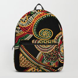 mystic rasta spiral Backpack