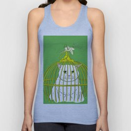 Look Who's Laughing Now Unisex Tank Top