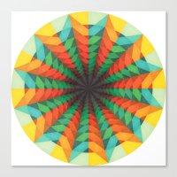 iris Canvas Prints featuring Iris by Anai Greog