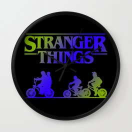 Retro Things Wall Clock