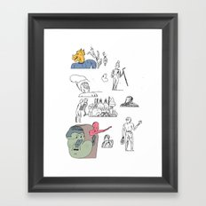 jikjikjik Framed Art Print