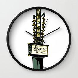 The Garland Theater, Spokane, WA Wall Clock
