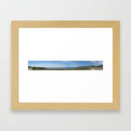 Panorama California Framed Art Print