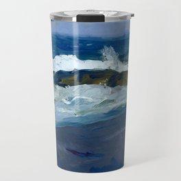 """George Wesley Bellows """"Rock Reef, Maine"""" Travel Mug"""