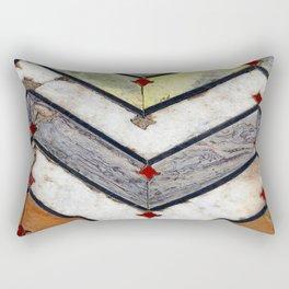 Marble Floor Rectangular Pillow