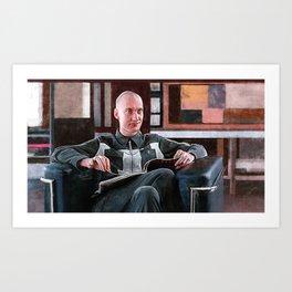 Knox Harrington, The Video Artist (The Big Lebowski) Art Print