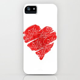 Old heart of coffee V T Shirts iPhone Case
