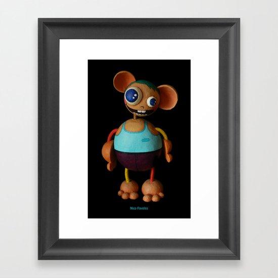 Nico Favolas Framed Art Print