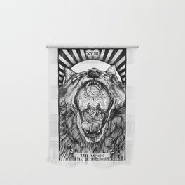 The Moon Tarot Card Wall Hanging
