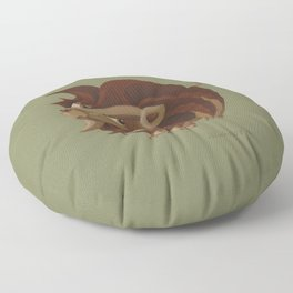 Leo (khaki) Floor Pillow