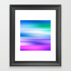 COLOUR & SHAPE  Framed Art Print