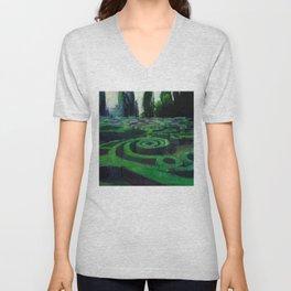 Secret Garden Unisex V-Neck