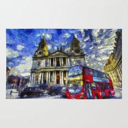 Vincent Van Gogh London Rug