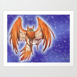 Nightowl Art Print