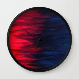 Collision- Together Forever Wall Clock