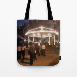 Wedding in the Pavilion Tote Bag