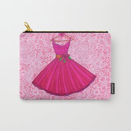 Holiday Dress / Party Lace Carry-All Pouch
