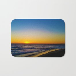 Huntington Beach Sunset 9 Bath Mat
