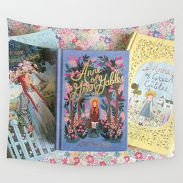 Anne of Green Gables Books Wall Tapestry
