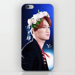 Flowerly Kai iPhone Skin