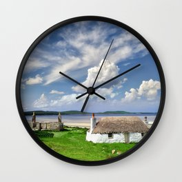 The Cottage and the Sea Wall Clock