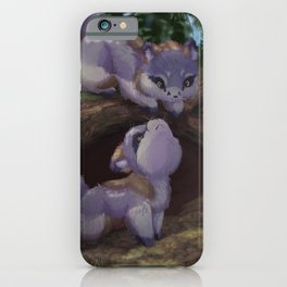 From the Den Gray Fox iPhone Case