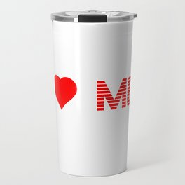 Valentine's - I Love Me (Heart) Travel Mug