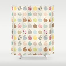 apples galore Shower Curtain