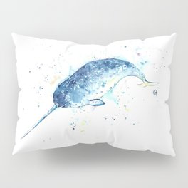 Narwhal - Unicorn of the Sea Pillow Sham