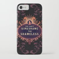 shameless iPhone & iPod Cases featuring the Shameless One by Larrydraws