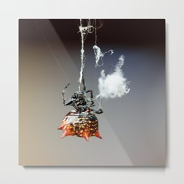 Hanging by a thread-2 Metal Print