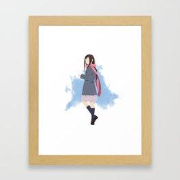 Noragami Minimalist (Hiyori) Framed Art Print
