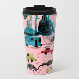 CityView pink Travel Mug