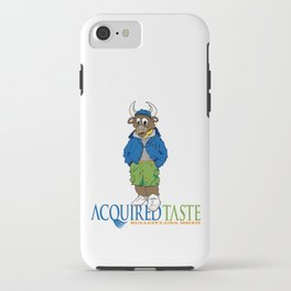 Acquired Taste Bull iPhone Case